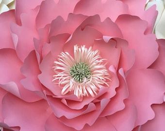 """Stunning 18"""" paper wall flower"""