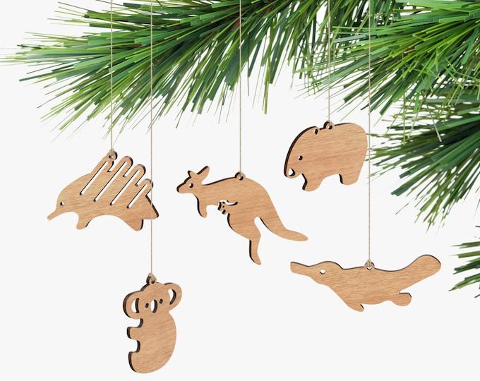 Australian Animal Ornaments - Box Set