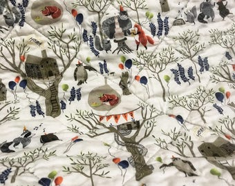 Handmade Whole Cloth Baby Quilt
