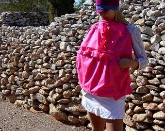Baby-Nursing Cover-Breastfeeding Cover-Nursing Tops-Breastfeeding Shirt-Ruffle T Pocket Feeder Frock in 7 Colors