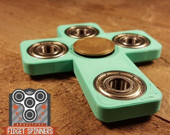 EDC Spinner Cross Fidget Toy With Caps
