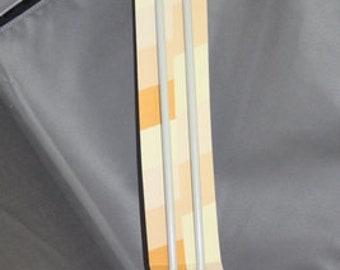 4 sets of aluminum knitting needles (8mm, 7mm, 5mm, 4mm)