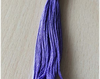 DMC stranded 3746 violet iris six strands