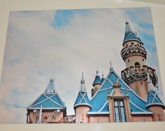 Metallic finish of Disneyland Castle