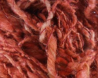 Gardénia: handspun art yarn