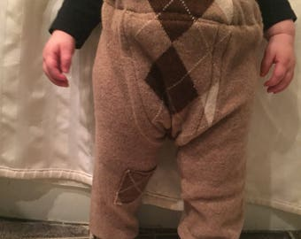 Reclaimed Cashmere Baby Pants