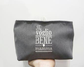 Beauty ricamati da borsetta ideale come regalo per la Festa della Mamma!  Ti voglio bene Mamma