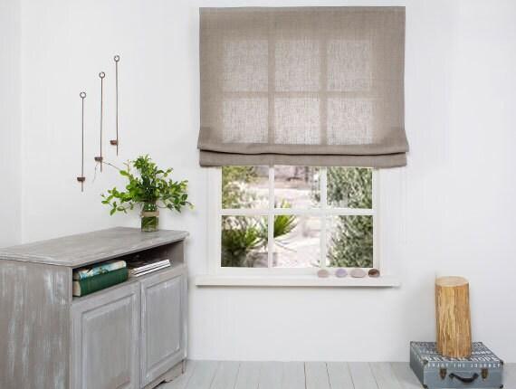 wood htm natural roman linen bar p with blinds organic