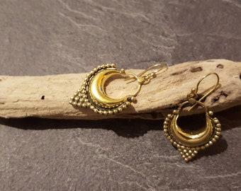 /Boucles ethnic earrings brass earrings / earrings/Bohemian earrings tribal / ethnic jewelry / Boho jewelry