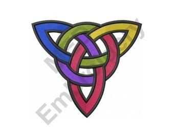 Celtic Gay Symbol - Machine Embroidery Design