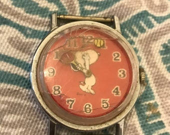 Vintage Snoopy Watch
