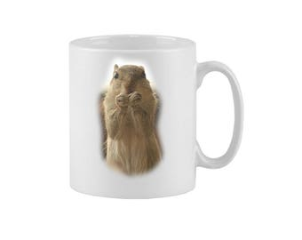 Pair of Animal Mugs | Variety Available | Tea/Coffee Cups | 11/10oz | Can be personalised