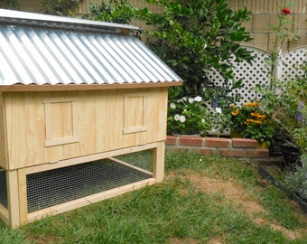 Unpainted Smart Chicken Coop