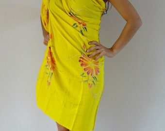 Embroidered Three - Way Sarong - variety of colours