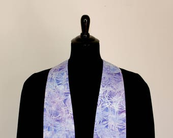 "Clergy Stole, Lavender #286, Pastor Stole, Minister Stole, 54"" Length, Clergy Wear, Vestments, Church"
