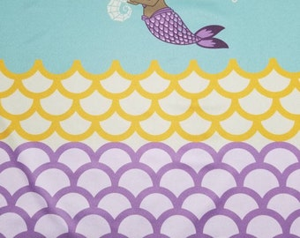 Custom Mermaid  Diaper you choose type and size Nb/Sm or Onesize
