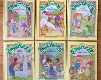 Vintage 1980s Childrens Book / CHOOSE YOUR Cabbage Patch Kids Story Book or All Six
