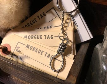 Hang in There Noose Keychains