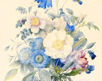 INSTANT DOWNLOAD JOURNAL Paper Antique Floral - Digital Background Page - CArd MakinG Junk Journal Paper Crafts Altered Art to Frame NO1738