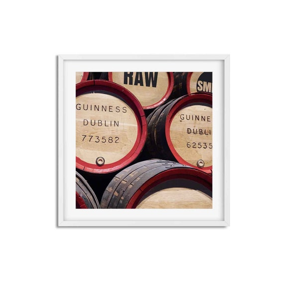 Guiness Barrels - Photo Print