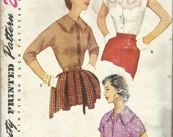 Original Vintage Sewing Pattern. Simplicity 4977