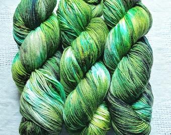 Mermaid Lagoon   Hand Dyed Yarn