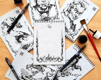 Sketchbook - inktober