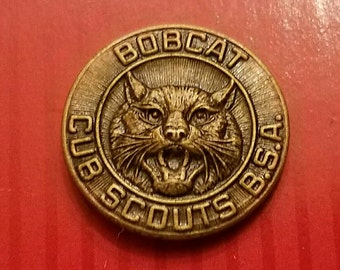 Cub Scouts Bobcat Tie Tack Pin
