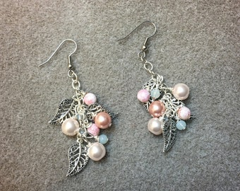 Lovely leafy earrings