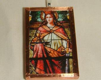 St Barbara Pendant  inv1939