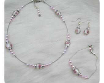 wedding ornament pink