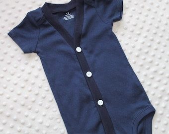 Baby Boy Cardigan, Navy Blue, Baby Tuxedo, Baby Boy Suit, Baby Boy Outfit, Baby Boy Coming Home Outfit, Baby Boy Clothes, Smash Cake Outfit