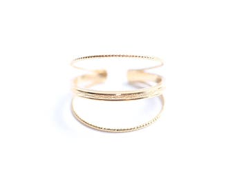 Ring gold plated 3 microns Unity