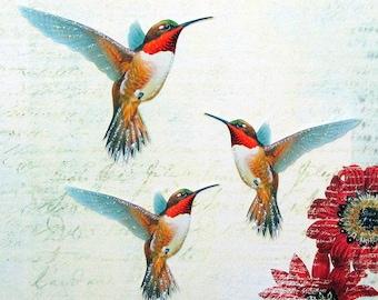 Hummingbird Embellishments Sienna