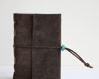 Brown Leather journal/sketchbook