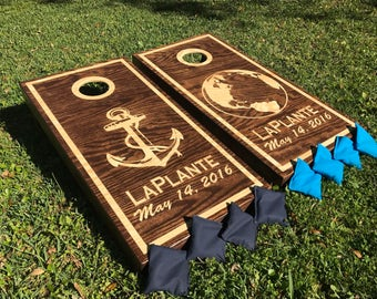 ANY logo **any design** CUSTOM corn hole boards quality and affordable! Summer is almost over! Weddings birthdays anniversaries and more!