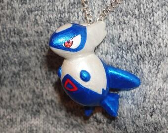 Pokemon - Latios Charm Necklace - Pokedoll Style Pendant