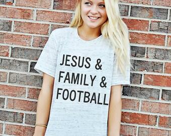 Jesus Family Football Shirt - Women's football T-shirt