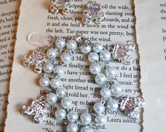 Magic Carriage Pearl Fairytale Bracelet - Silver