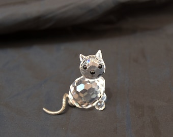 Figure Cat Swarovski Crystal figure Jack Crystal Swarovski