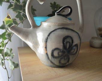 Glossy teapot