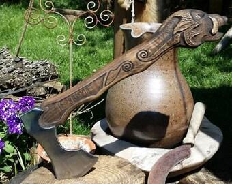 Fantasy/Viking Hawk ' Wild Boar '