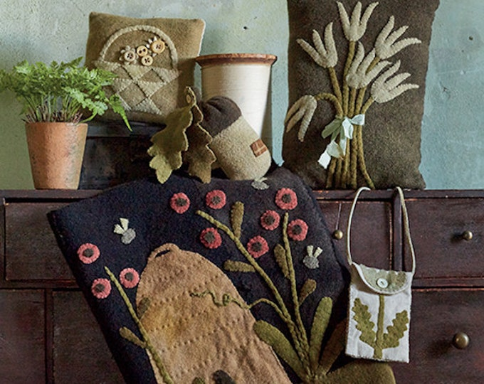 """Pattern Book: Just Arrived! - New! """"Pure and Simple"""" Book By Maggi Bonanomi"""