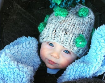 Baby Bobble Hat