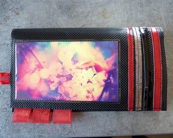 Door-checkbook cherry blossoms. Original material