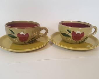ON SALE, Mongolian Teacups, Green Teacups, Lime Green Teacups, Mongolian Pottery, Teacups and Saucers, Mongolian Pottery, Coffee Cups, Small