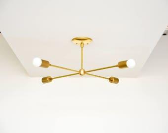 Moderne Kronleuchter Gold ~ Schwarz & messing mix moderner kronleuchter 5 arm windrad mit