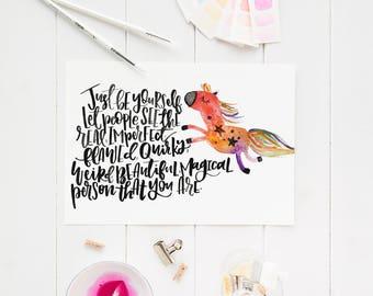 Be Magical print