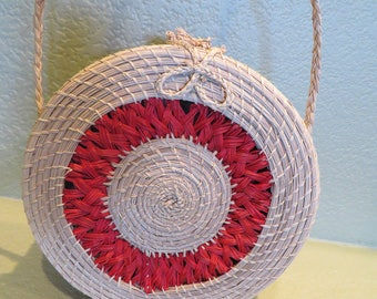 Yoyo Handwoven Rectangular Handbag