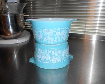 Pyrex Amish Butterprint #473 Casserole Dish